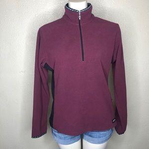 Kerrits 1/4 zip fleece sweatshirt size medium